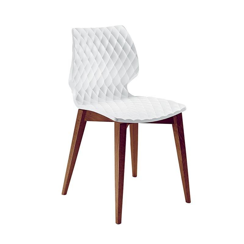 chaise design pieds en bois uni metalmobil. Black Bedroom Furniture Sets. Home Design Ideas